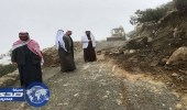 بالصور.. بلدية بني عمرو تزيل الانهيارات الصخريّة و تصلح الأضرار الناجمة عن الأمطار