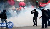 إشتباكات بين متظاهرين والشرطة في باريس