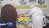 العيادات التخصصية تقدم التطعيمات لــ 379 لاجئاً سوريًا بالزعتري خلال شهر مارس
