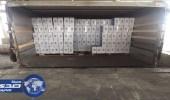 جمرك البطحاء يحبط أكثر من 3 ملايين كيس تنباك و11 مليون سيجارة