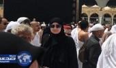 بالصورة.. غادة عبدالرازق بالحجاب في الحرم المكي