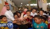 بالصور.. «التمر» بديلا لـ «الحلوي» في مدرسة محاسن الابتدائية بالمبرز
