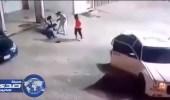 بالفيديو.. سطو على محطة وقود بحي النسيم