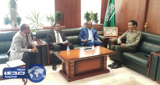 مدير جوازات الرياض يستقبل سفير جمهورية أثيوبيا