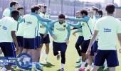 برشلونة يختتم استعداداته لمواجهة ريال مدريد في الكلاسيكو