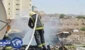 الدفاع المدني يسيطر على حريق في مسجد ومنزل بالمدينة