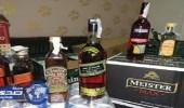 ضبط 19 ألف زجاجة خمور في شاحنة خضار بالبطحاء