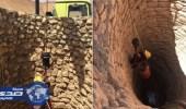 مدني الغاط ينقذ هرة من بئر جاف بعمق 13م في إحدى المزارع