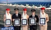 طيران الإمارات يفوز بجائزة الأفضل في العالم