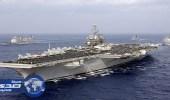 حاملة طائرات أمريكية تتجه مع أسطولها لشبه الجزيرة الكورية