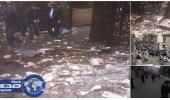 بالصور.. اللحظات الأخيرة قبل تفجير كنيسة الإسكندرية