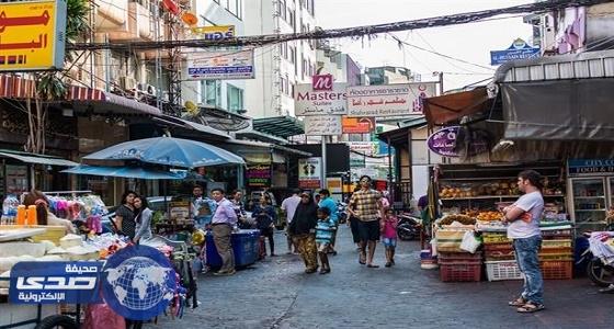 منع الباعة الجائلين من العمل بالشوارع فى تايلاند
