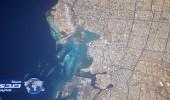 رائد فضاء يوثق معالم جدة ومطارها الدولي بصورتين