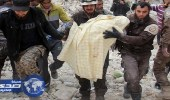 مقتل سيدة نتيجة القصف الجوي الروسي في خان شيخون