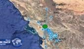 المساحة الجيولوجية تدرس أملج بعد سلسلة الهزات الارضية