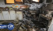 """إخماد حريق في مطبخ منزل بـ """" عنيزة """""""