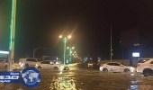 امطار غزيرة على محافظة هروب بجازان