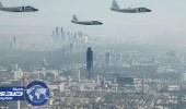 مواطن يرصد طائرات روسية تحلق فوق سوريا