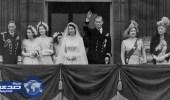 بالفيديو والصور .. لقطات نادرة من حفل زفاف الملكة إليزابيث