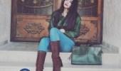 بالصور .. إبنة قاسم ملحو وآمال تُثير ضجة بجمالها اللافت