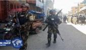 تبادل إطلاق النار بين الشرطة الأفغانية ومسلحين داخل مبني التلفزيون