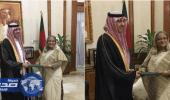 خادم الحرمين يوجه دعوة لرئيسة وزراء بنغلاديش لحضور القمة العربية الإسلامية الأمريكية