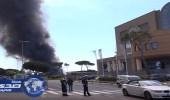 بالفيديو.. تصاعد دخان كثيف من مكب نفايات وسط روما