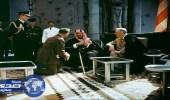 بالأنفوجراف.. تفاصيل اللقاء التاريخي بين الملك عبد العزيز والرئيس الأمريكي روزفلت