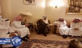 أمير الرياض يقدم التعازي في وفاة «السديري»