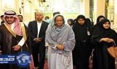 بالصور.. رئيسة وزراء بنغلاديش تزور المسجد النبوي