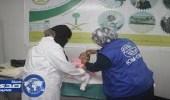 العيادات التخصصية تقدم اللقاحات والمطاعيم للاجئين السوريين بمخيم الزعتري