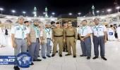 بالصور.. مدير الأمن العام يثني على دور الكشافة في جولته بالحرم المكي