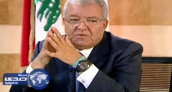 وزير الداخلية اللبناني يلتقي الوفود المشاركة في بطولة الشرطة العربية للرماية