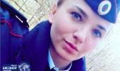 """بسبب """" ماضيها الوحشي """" طرد حسناء روسية من أكاديمية الشرطة"""