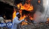 مقتل 5 أشخاص في انفجار عبوة ناسفة في باكستان