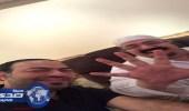 الأمير بندر بن محمد عضو شرف الهلال ورئيسه السابق يشير بالخمسة
