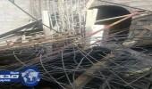 إصابة شخصين سقط عليهما سقف مسجد بالعيص