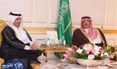 ولي العهد ورئيس مجلس الوزراء القطري يستعرضان آخر تطورات الأوضاع في المنطقة