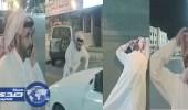مشهد تمثيلي كوميدي يكشف عن ماسأة تبوك المرورية