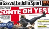 الصحف الإيطالية تحتفي بفوز «تشيلسي» بالبريميرليج بقيادة «كونتي»