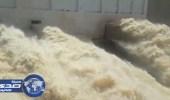 تصريف 20 مليون متر مكعب مياه من سد وادي جازان