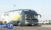 فرع وزارة العمل بمكة يشارك الأيتام والمسنين بحافلة الملتقى الثقافي