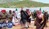 أمير منطقة الباحة يتفقد محافظة بلجرشي