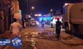 بالصور.. مدني الخرج يسيطر على انفجار اسطوانة غاز بأحد المنازل