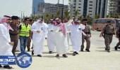 بالصور.. نائب أمير مكة يتفقد إنجاز 78 % من مشروع الكورنيش و30 % من القطار