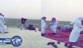 بالفيديو.. تعذر رؤية هلال رمضان بسبب الأحوال الجوية