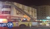 بالصور.. السيطرة علي حريق في شقة بالأحساء