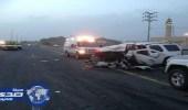 مصرع شخصين وإصابة 8 آخرين إثر حادث مروري برنية