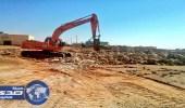 بلدية العويقيله تزيل 35000 مترمكعب من مخلفات البناء