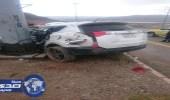بالصور.. وفاة مواطن في حادث مروري بطريق الباحة